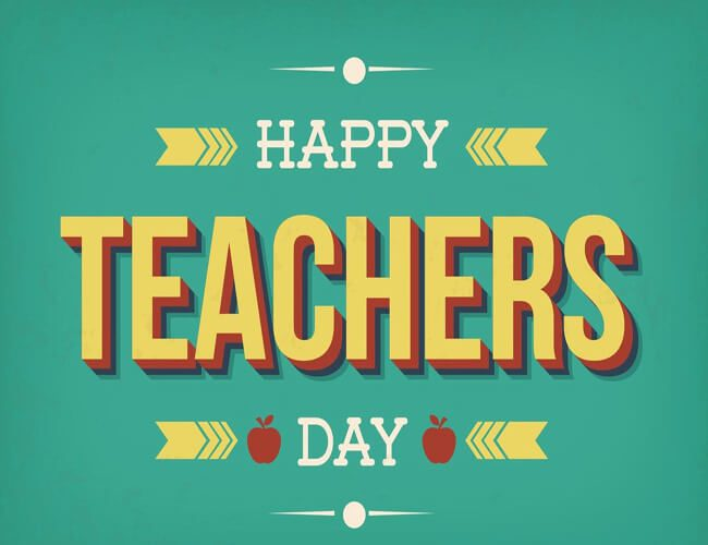 Happy Teachers Day Images